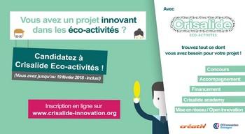 Plus que quelques jours pour participer au concours  Crisalide Eco-activités !