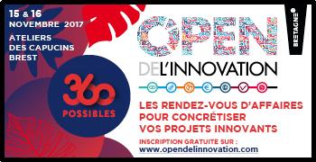 360 Possibles à Brest  :  Inscrivez-vous dès maintenant aux rendez-vous B2B organisés les 15 & 16 novembre 2017