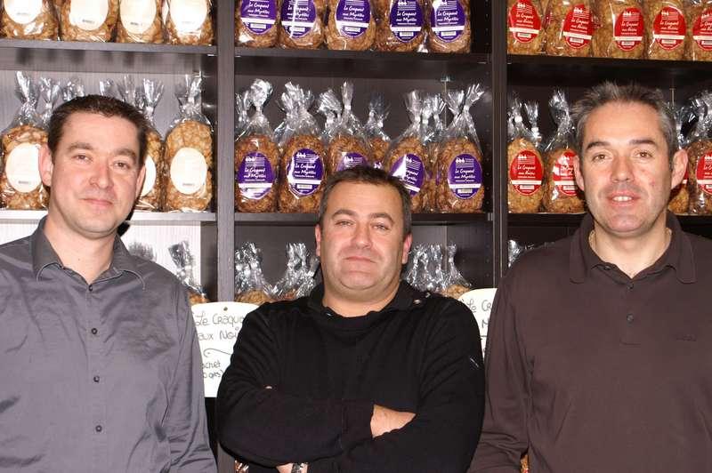 Hervé Le Merdy, Frédéric Adam, et Stéphane Modelès