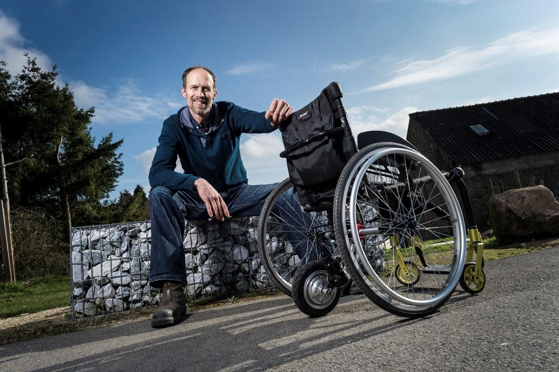 Mathieu Rietman, lauréat du concours Start-up et Handicaps