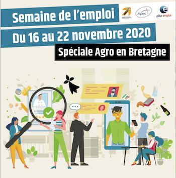 Du 16 au 22 novembre, l'ABEA organise la Semaine de l'Emploi Spéciale Agroalimentaire Breton