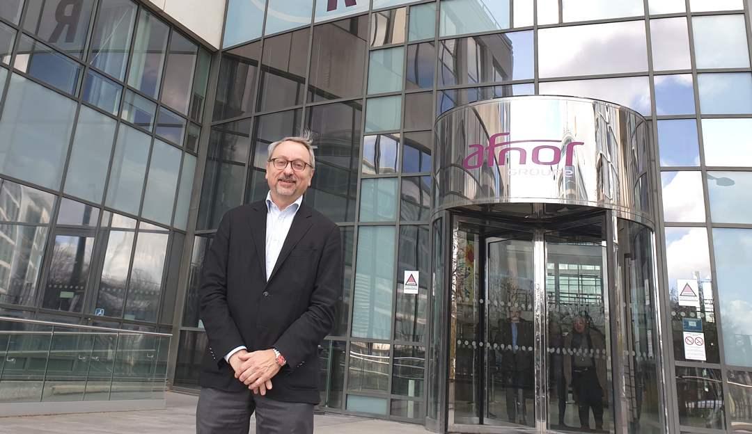 Christian Mayeur, Directeur Développement et Innovation au sein de l'Afnor sera l'un des grands témoins de l'étape bretonne du Tour de France de la normalisation volontaire organisé le 4 mars prochain à Rennes