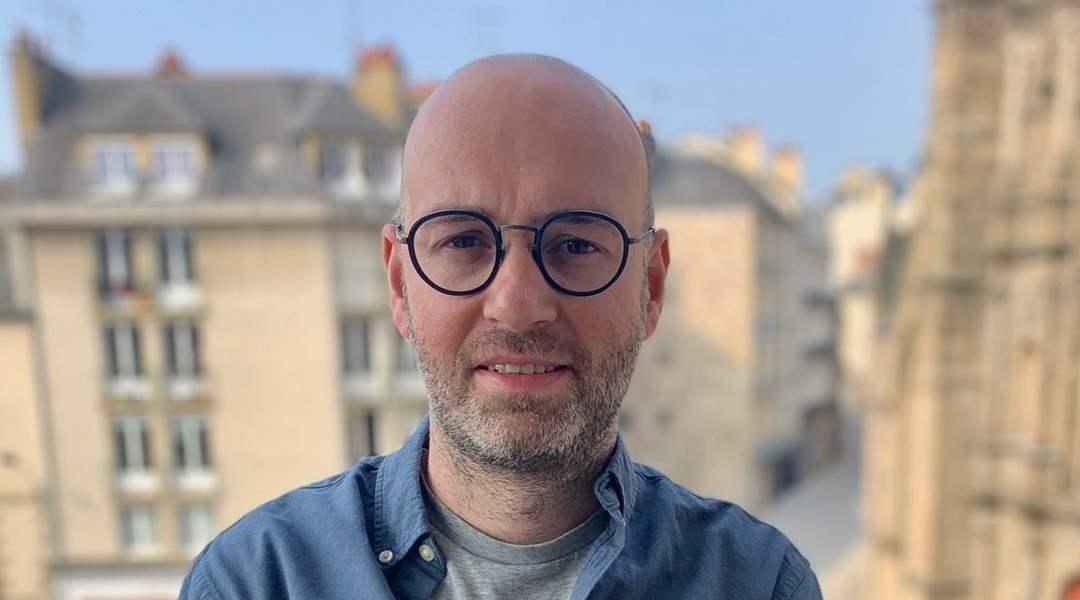 Antoine Bohuon, co-associé avec Pierre Lampérin et Julien Quéré d'Ambuliz à Rennes
