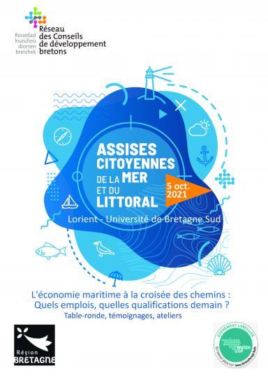 Les Assises de la mer et du littoral en Bretagne se tiendront le 5 octobre à Lorient