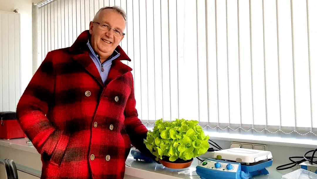 Marc Guillermou, dirigeant et co-fondateur de Bio 3G en 1997
