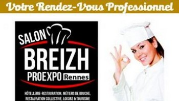1ère édition du salon BreizhProExpo, les 18 et 19 février 2018 à Rennes