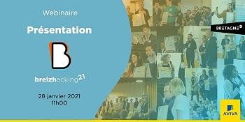 En 2021, le Breizhacking Tour se fera en ligne : Webinaire le 28 janvier