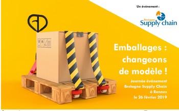 « Emballages : changeons de modèle ! » : le 26 février à Rennes avec Bretagne Supply Chain
