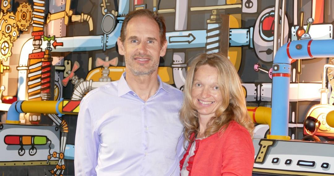 Christophe Niceron et son épouse Myriam  ont créé  la SAS Kerfood implantée à Landévant dans le Morbihan