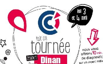 Dinan : les 3 et 4 avril, la CCI fait sa tournée auprès des commerçants