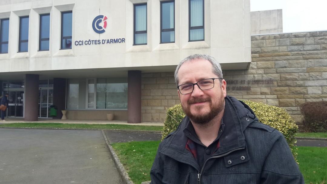 Nicolas Chapelle a fondé Virtual World à Saint-Brieuc, première salle de jeux en réalité virtuelle en Côtes-d'Armor.