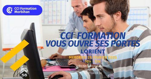 CCI Formation Morbihan ouvre ses portes