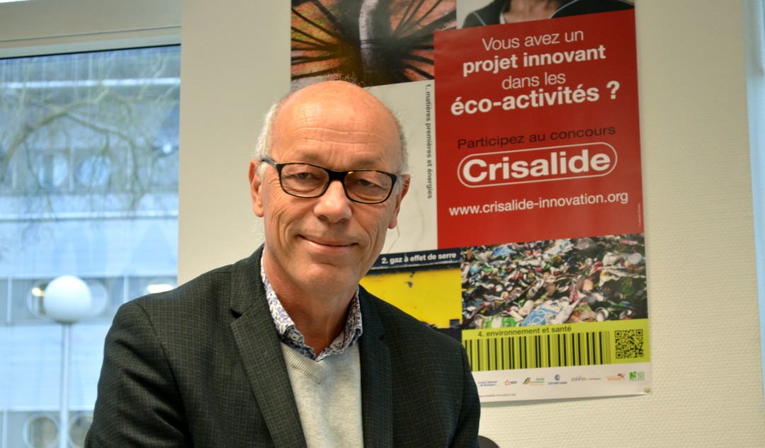 Hervé Daniel, Directeur de Créativ, initiateur de la démarche Crisalide avec CCI Innovation Bretagne.