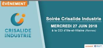 Soirée Crisalide Industrie : première édition le 27 juin à Rennes
