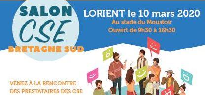 Participez au 1er salon dédié aux CSE en Bretagne sud, le 10 mars à Lorient