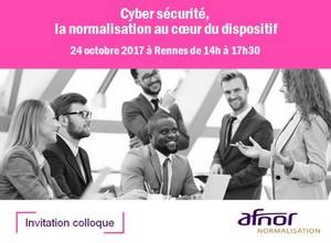 Colloque Cybersécurité à Rennes : réservez votre mardi 24 octobre
