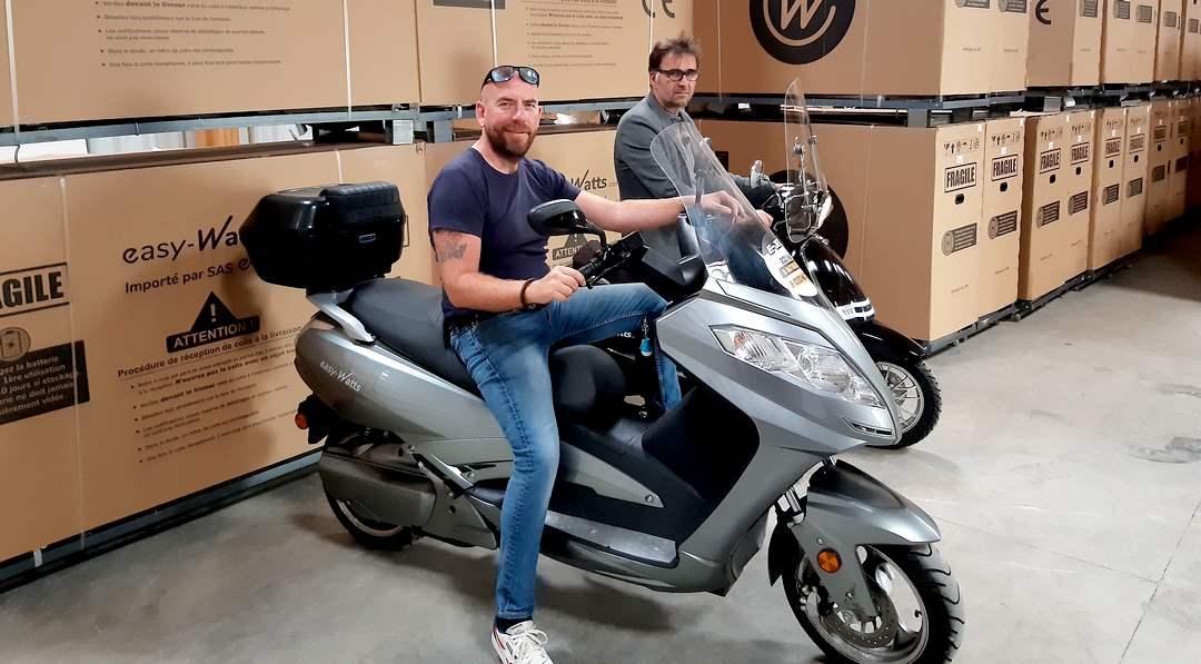 Installée dans les Côtes-d'Armor, Easy-Watts est aujourd'hui spécialisée dans le scooter électrique.