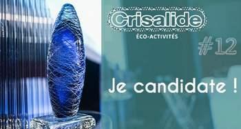 Crisalide Eco-Activités #12 : les dossiers de candidature sont à déposer jusqu'au 17 février 2020