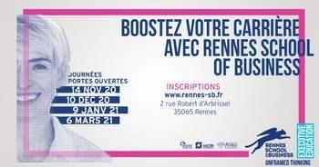 Formation continue : Portes ouvertes, le 14 novembre, à Rennes School of  Business