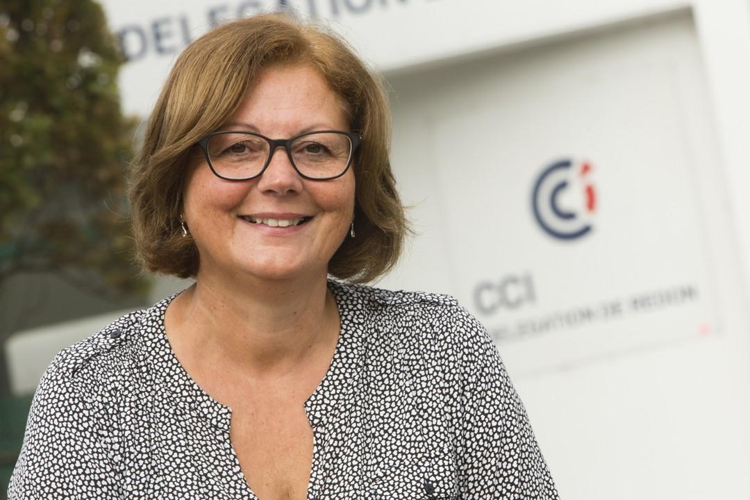 Fabienne Tarrada, conseillère création de la CCI à Redon
