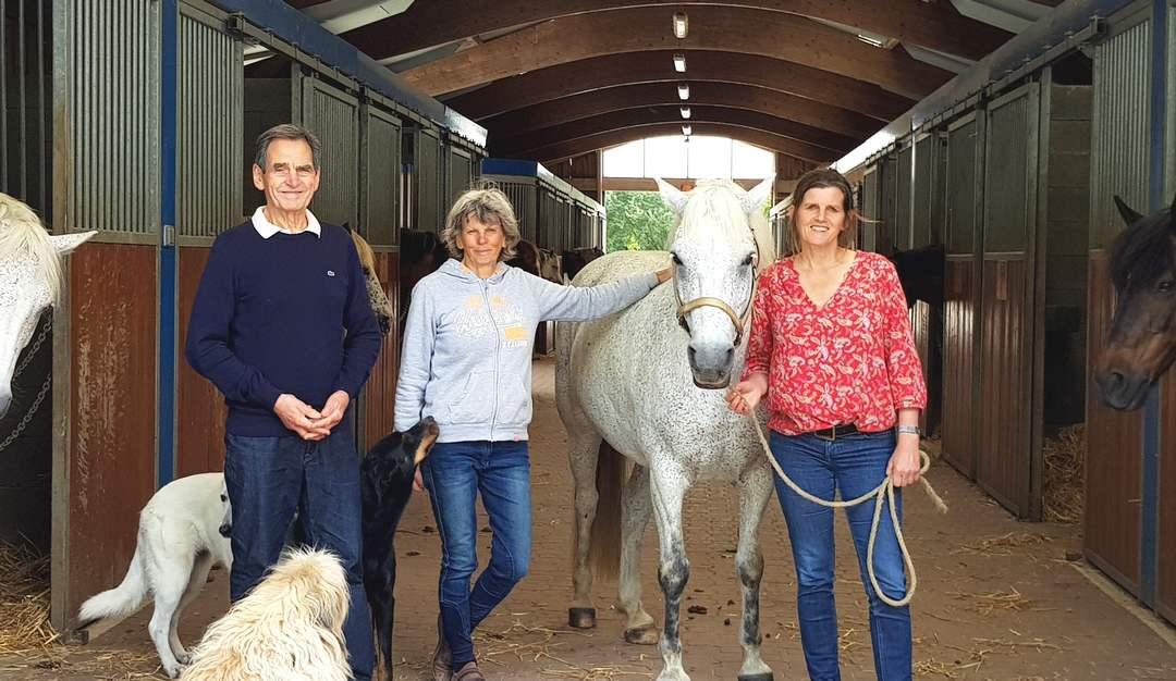 Lucien, Suzanne et Isabelle Mauguin sont aux commandes de Fénicat
