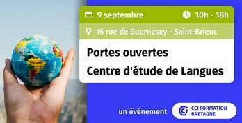 Saint-Brieuc : le 9 septembre, participez aux portes ouvertes du centre d'étude de langues