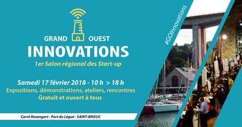 Grand Ouest Innovations, le 17 février à Saint-Brieuc : une occasion unique pour rencontrer les start-up de Bretagne