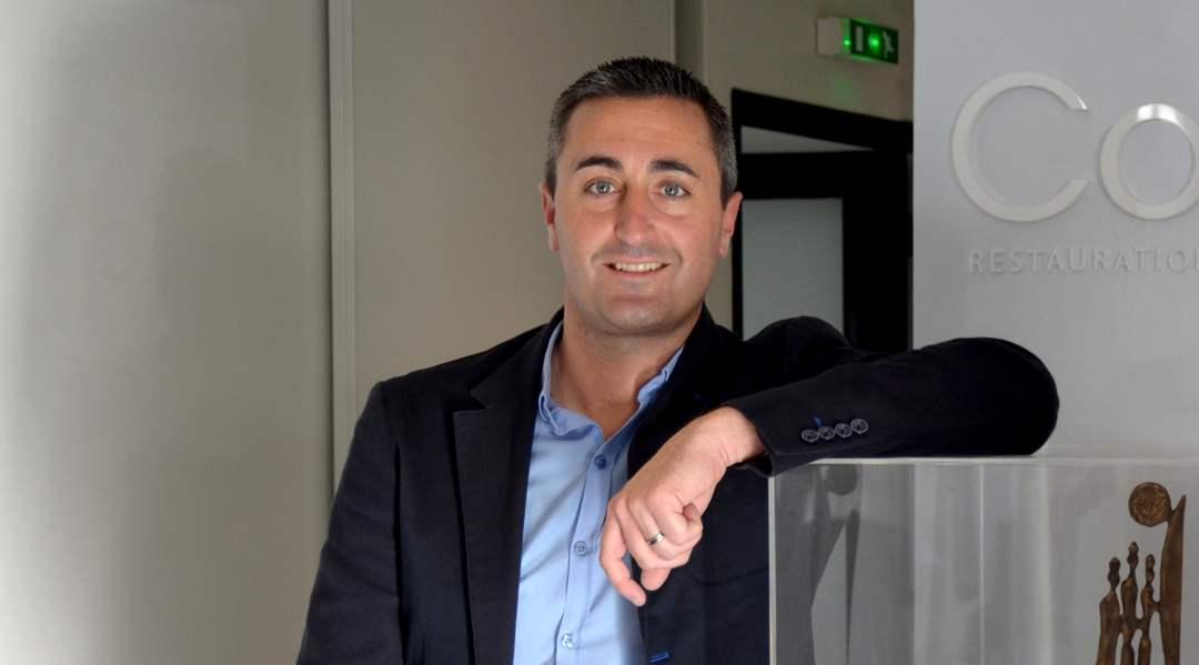 Grégory Renou, président de Convivio depuis 2008