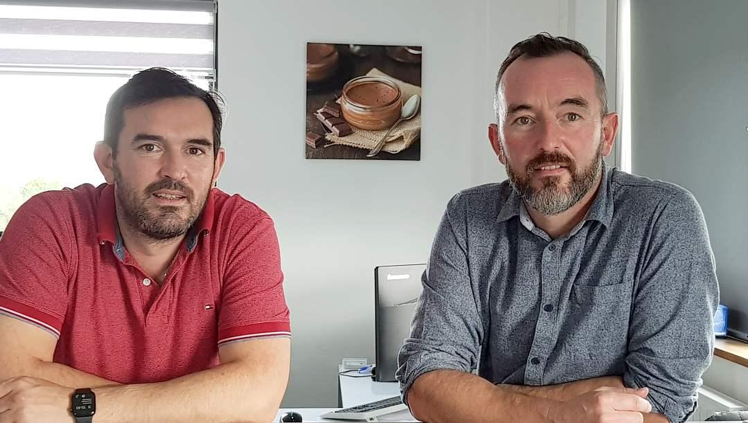 Eric et Bruno Morin sont à la tête de Marie Morin, entreprise familiale basée à Quessoy dans les Côtes d'Armor