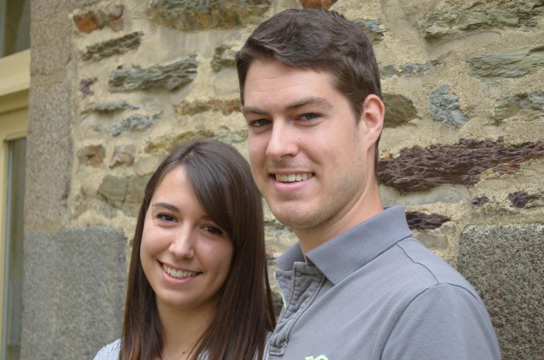 Autodidactes, passionnés,  à 20 et 22 ans,  Sabine et Florian ont créé Mille & unes Plumes avec le soutien  du village by CA des Côtes d'Armor