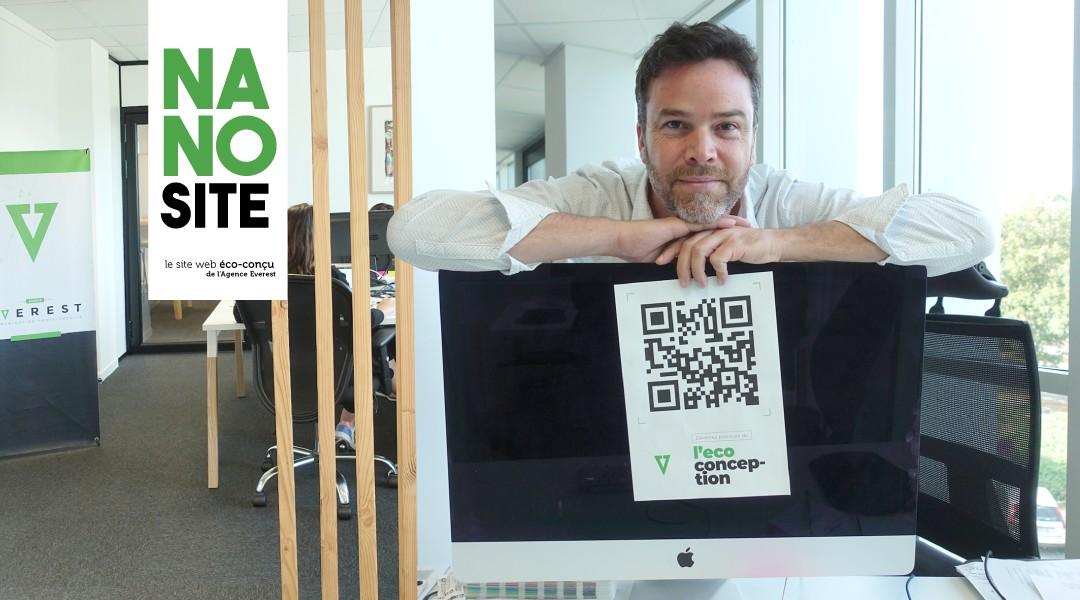 Aurélien Pasquier, cofondateur d' Everest à Rennes lance les Nanosites, des sites Internet bas carbone