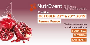 NutrEvent : toute l'innovation en alimentation et nutrition à l'échelle européenne, les 22 et 23 octobre à Rennes