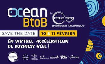 Les 10 et 11 février, Océan BtoB pour accélérer l'innovation maritime