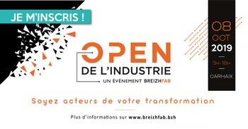 4ème édition de l'Open de l'industrie, le mardi 8 octobre 2019, à Carhaix : les inscriptions sont ouvertes