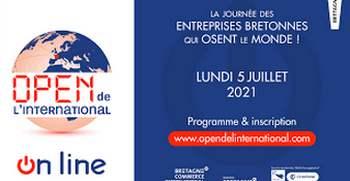 Open de l'International  : Les inscriptions se poursuivent jusqu'au vendredi  2 juillet