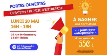 Saint-Brieuc : portes ouvertes pour encourager l'envie d'entreprendre !