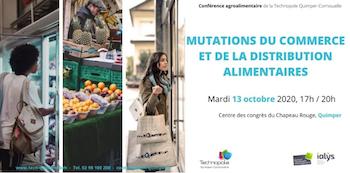 Quimper. Une conférence sur les mutations du commerce et de la distribution alimentaire