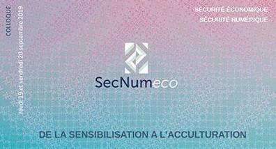 Sécurité économique et numérique à l'honneur, les 19 et 20 septembre 2019 à Saint-Brieuc et à Ploufragan.