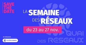 Côtes d'Armor : du 23 au 27 novembre suivez des webinaires spécialisés par réseau