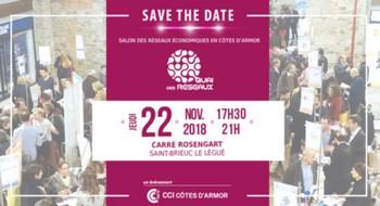Réservez dès à présent votre soirée du 22 novembre  pour la 10e édition du Quai des Réseaux à Saint-Brieuc