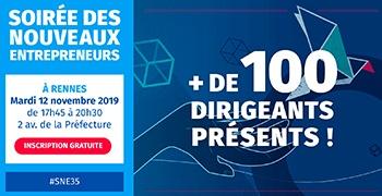 Le 12 novembre, participez à la soirée des nouveaux entrepreneurs à la CCI Ille-et-Vilaine
