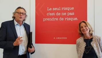 Jean-Jacques Lemée et Clara Bessou ont contacté les équipes de Rebond 35 et 60 000 Rebonds pour les aider à se reconstruire et bâtir un nouveau projet professionnel