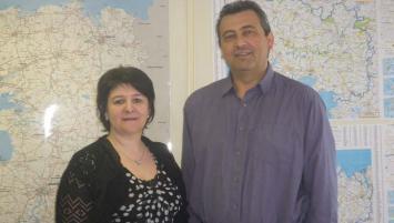Hélène Jaffré et Daniel Gendron