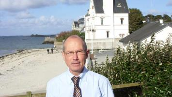 Ronan Queinnec, directeur du centre de thalassothérapie de Roscoff