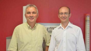 Jean-Luc Pottier président et Guy Guennec, directeur général.