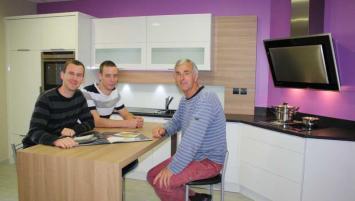 Mikaël et Thomas Gary reprendront l'entreprise créee par leur père Ghislain Gary