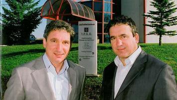 Philppe et Jean-Louis Sutre, co-dirigeants du groupe HERTUS.