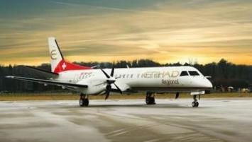 Saab 2000 de la compagnie Etihad Regional