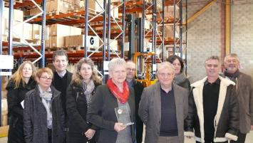 Trophées TMS Pros : Françoise Saget (56) récompensée par la Carsat