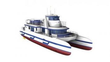 KatEl, le catamaran développé par le bureau d'architecture navale Coprexma
